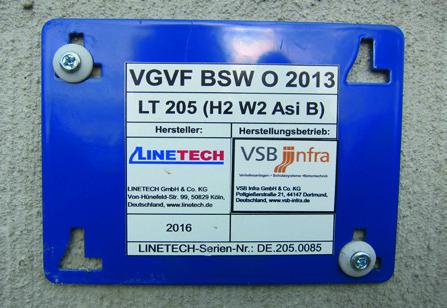 Einführung VGVF BSW O 2013