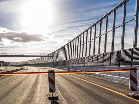 FRS auf Langenfelder Brücke Hamburg