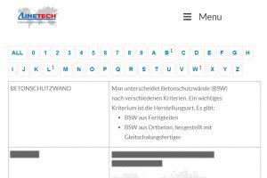 Glossar_Fahrzeugrückhaltesysteme_Ortbeton_Linetech