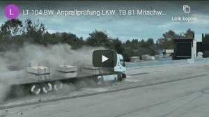 anprallvideo LT 104 bw