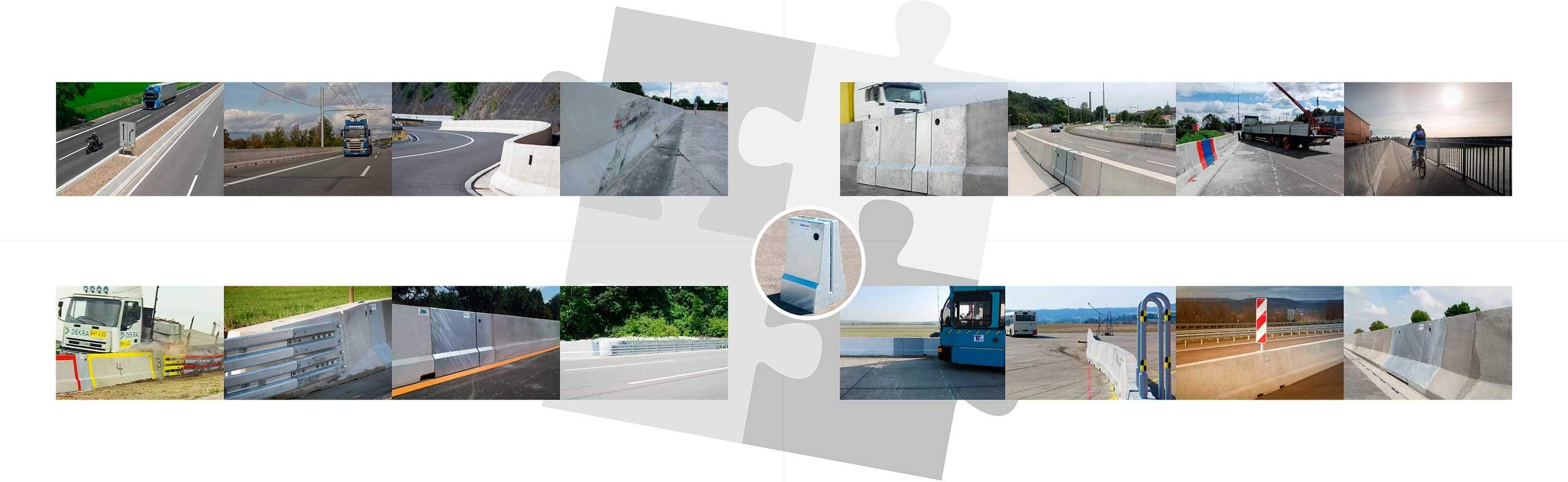 fahrzeug-rückhaltesysteme aus ortbeton für hohe durchbruchsicherheit