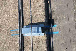 Produktbild LT 902 Entwaesserungsoeffnung Zubehoer Ortbetonschutzwand Betonfertigteilwand Linetech Fahrzeugrueckhaltesystem Betonschutzwand