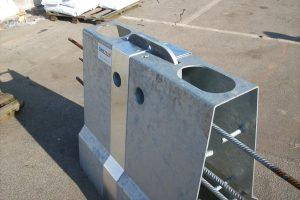 Produktbild LT 905 Spaltabdeckung Zubehoer Ortbetonschutzwand Betonfertigteilwand Linetech Fahrzeugrueckhaltesystem Betonschutzwand