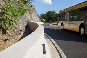 Produktbild LT 105 Strecke H2 Linetech Fahrzeugrueckhaltesystem Betonschutzwand