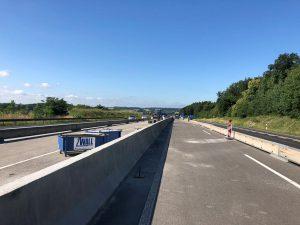 Produktbild LT 205-10 Strecke H2 Linetech Fahrzeugrueckhaltesystem Betonschutzwand