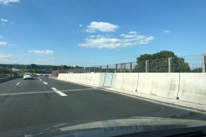Produktbild LT 1-4-1 H4b Dilatation Linetech Fahrzeugrueckhaltesystem Betonschutzwand