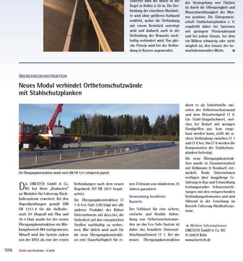 Linetech Straße und Autobahn LT-1-8-Eco-Safe