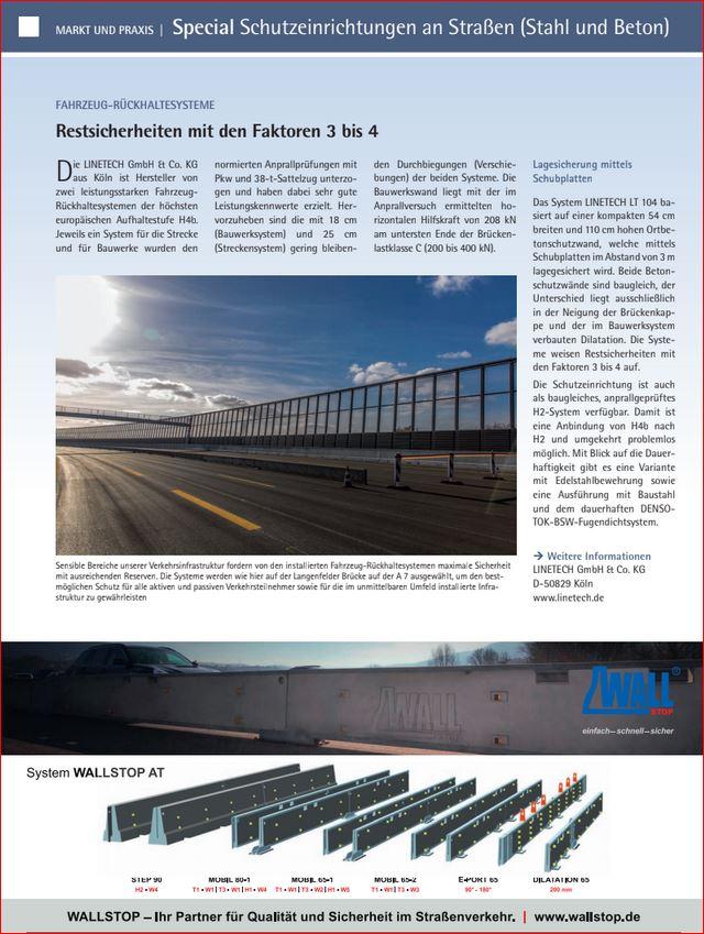 Strasse und Autbahn - Special Schutzeinrichtungen