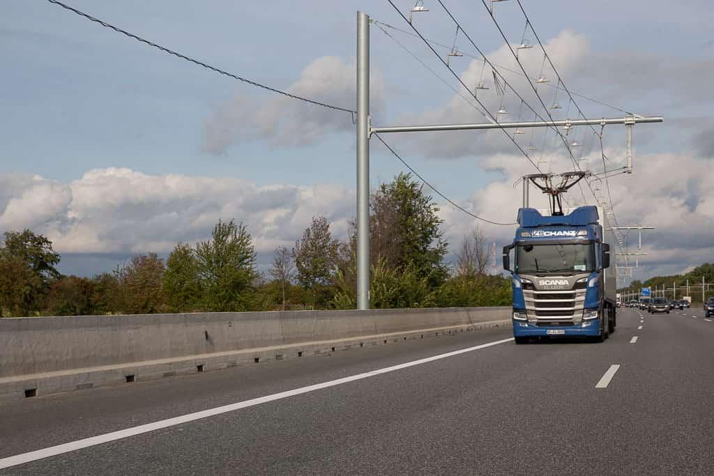 Elisa Elektrifizierter, innovativer Schwerverkehr auf Autobahnen eHighway