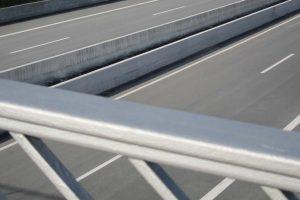 LT 103 Linetech Betonschutzwand Fahrzeugrückhaltesystem Strecke