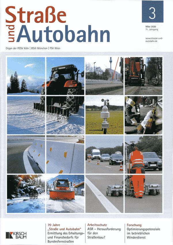 Redaktioneller Beitrag Linetech für Straße und Autobahn
